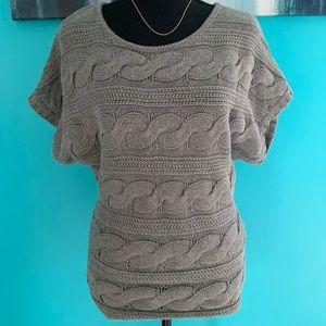 Express capsleeve sweater